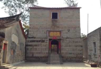 3D Reverse Modeling of Zhangpu Wan'an Building in Zhangzhou
