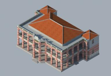 3D Reverse Modeling of Centennial Building at 116 West Street, Quanzhou
