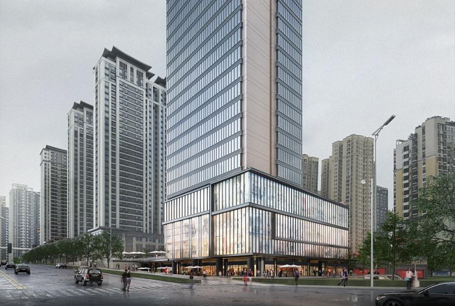 建发•长沙中央首府BIM项目